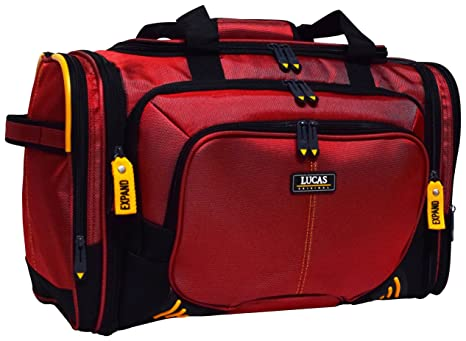 210d9757ae1 Amazon.com   Lucas Accelerator 20 Inches Duffel Bag, One Size   Carry-Ons
