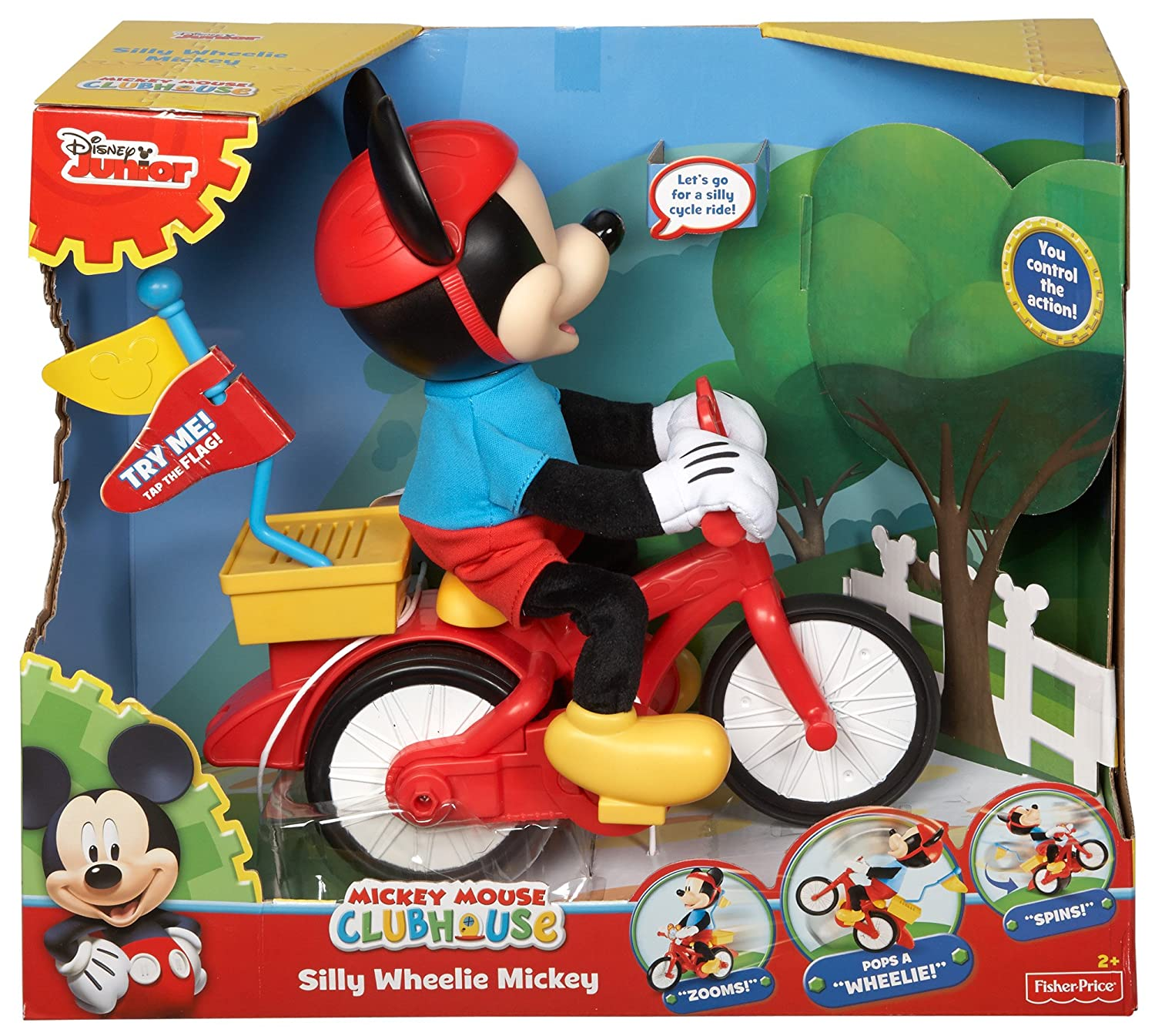 Mickey Mouse Clubhouse Silly Cycling Mickey Amazoncouk Toys