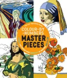 Color-By-Numbers Masterpieces: Unwind and Release Your Creativity by Bringing Art to Life