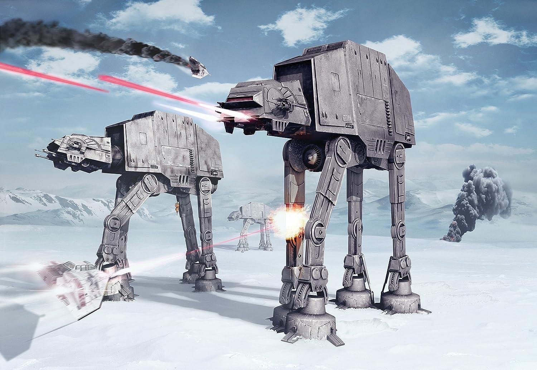 Fototapete Star Wars BATTLE OF HOTH 368x254cm Cartoon Sci-Fi Kindertapete Fantapete