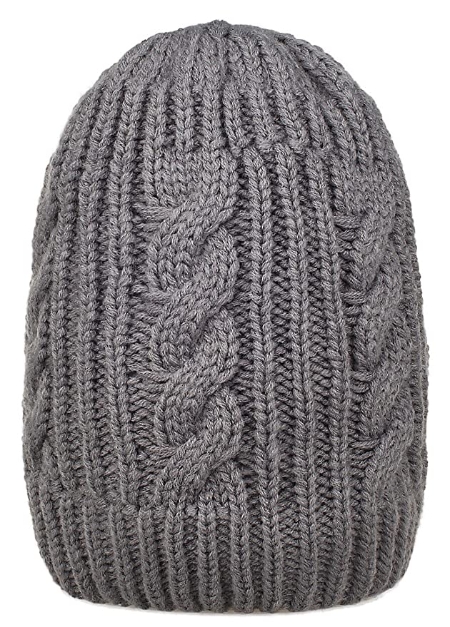 a1c9645ca2d Spikerking Mens New Winter Hats Knitted Classic Twist Cap Thick Beanie Hat