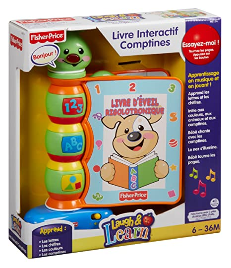 Fisher Price Livre Interactif Comptines