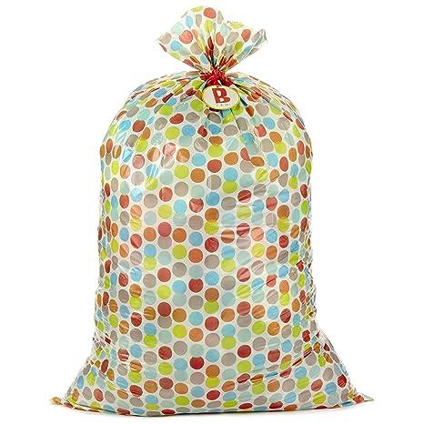 Amazon.com: Hallmark - Bolsa de regalo de plástico grande, L ...