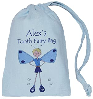 Pink /& Blue Tooth Fairy Bag