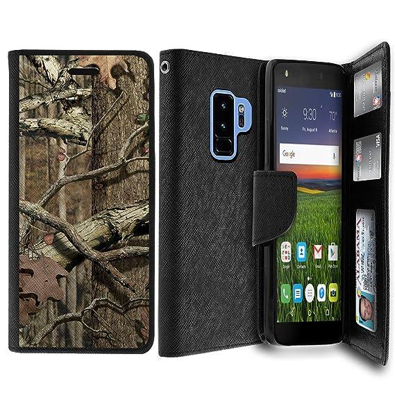 size 40 d8d4d 6817e Untouchble|Case for Samsung Galaxy S9 Plus Camo Case, Galaxy S9 Plus Wallet  Case [MAX WALLET] Premium Design Wallet Cover Interior TPU Case Money Slot  ...