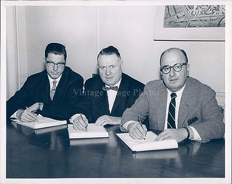 Amazon com: 1962 Photo Jerome L Rappaport Vice President