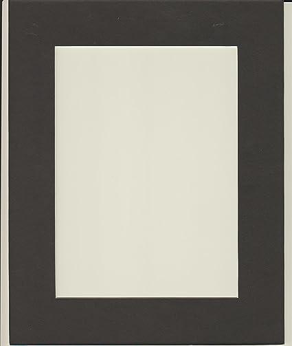 Amazon.com: 16x20 Black Picture Mats Mattes Matting with White Core ...