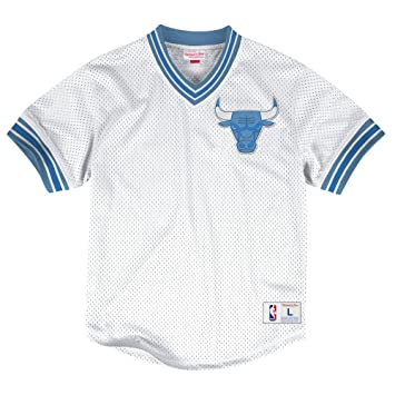 Mitchell   Ness NBA Men s Mesh V-neck Jersey Trikot Shirt  quot  Chicago  Bulls 7fa83591dee8