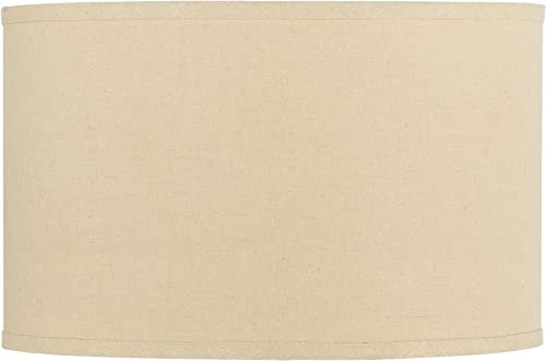 Cal Lighting SH-1361 10-Inch Drum Hardback Fabric Shade