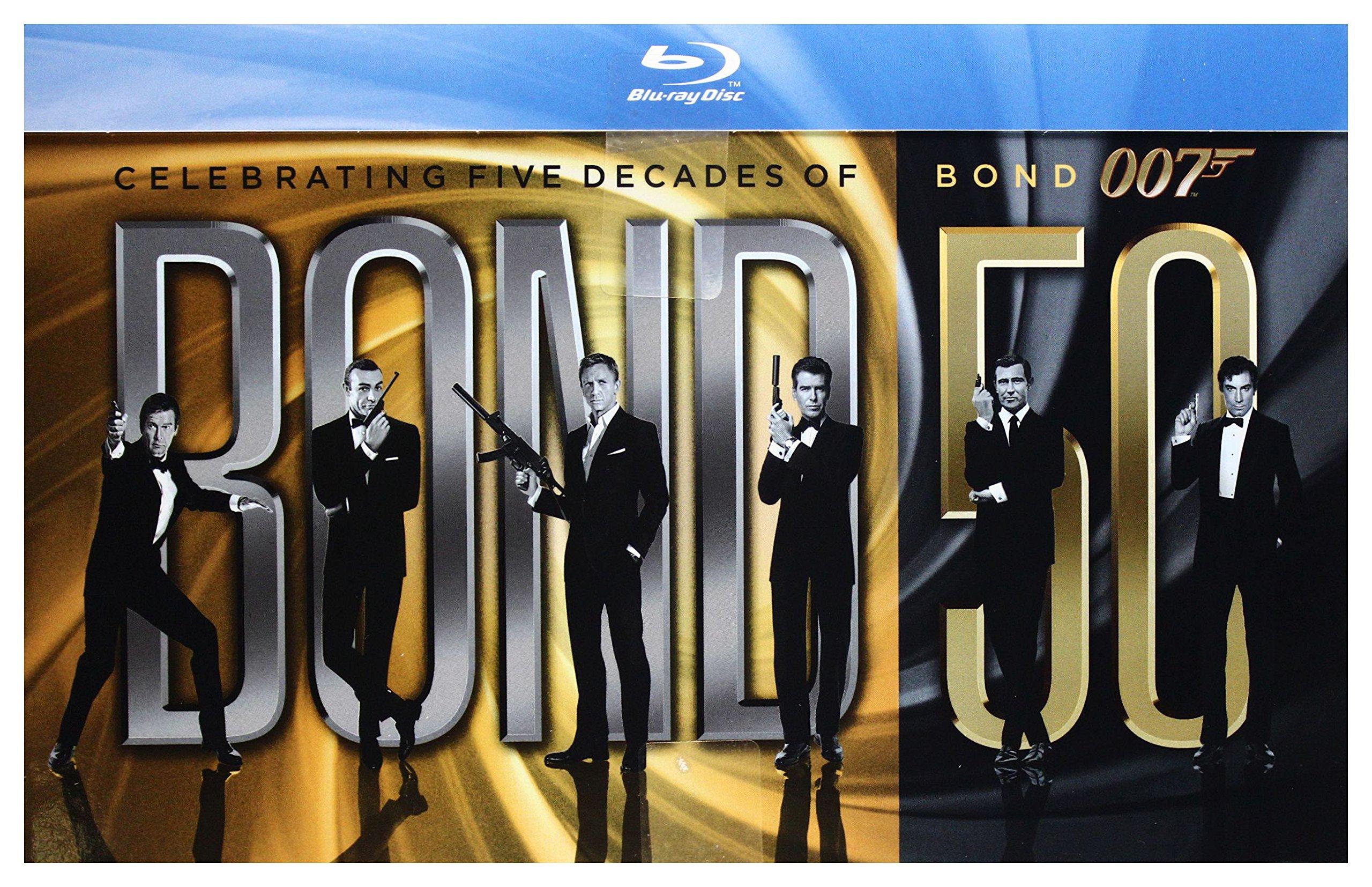 007 James Bond: Pełna Kolekcja 22 filmy [BOX] [23xBlu-Ray] (No English version)