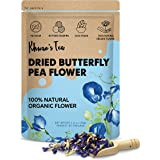 Pure Dried Butterfly Pea Flowers Blue Tea Clitoria Flower Herbal Retreat 100% Organic Nontoxic, GMO Free, 1.80 Oz. Safe And H