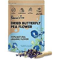 Pure Dried Butterfly Pea Flowers Blue Tea Clitoria Flower Herbal Retreat 100% Organic Nontoxic, GMO Free, 1.80 Oz. Safe…