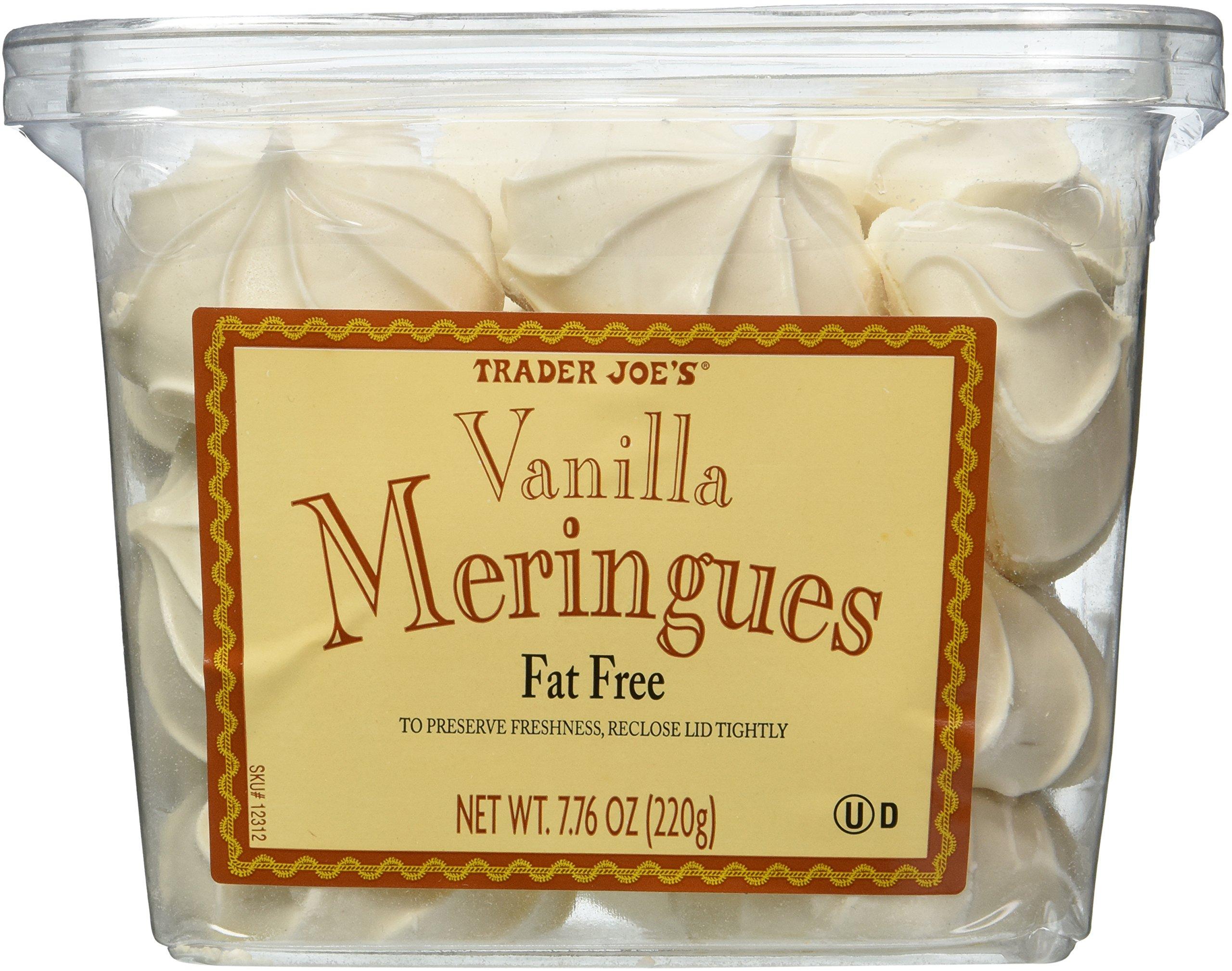 Trader Joe's Vanilla Meringues - Fat Free - 7.76oz (210g) - 2 PACK by