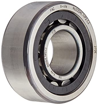 Straight Bore Normal Clearance High Capacity 48mm Width Polyamide Cage 140mm OD Single Row FAG NU2313E-TVP2 Cylindrical Roller Bearing 65mm ID Removable Inner Ring