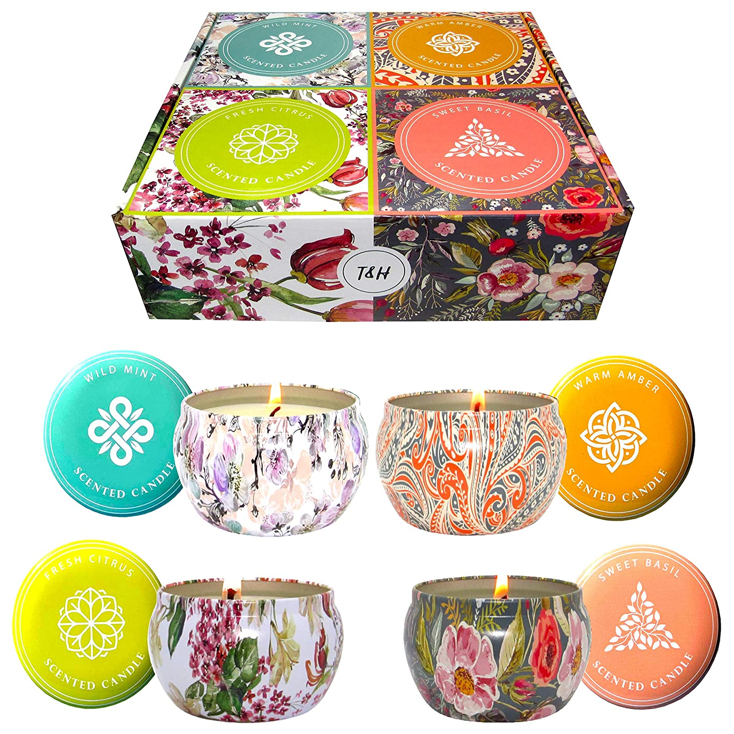 Big Aromatherapy Scented Candl...