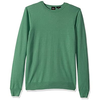 BOSS Orange Men's Kwasiros Long Sleeve Crew Neck Sweater: Clothing