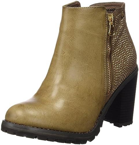 Xti Botin Sra. Xti Botin Mme C.combinado 46066, Zapatos De Tacón, Mujer, Beige (taupe), 39 C.combinado 46066, Talons, Femme, Beige (taupe), 39