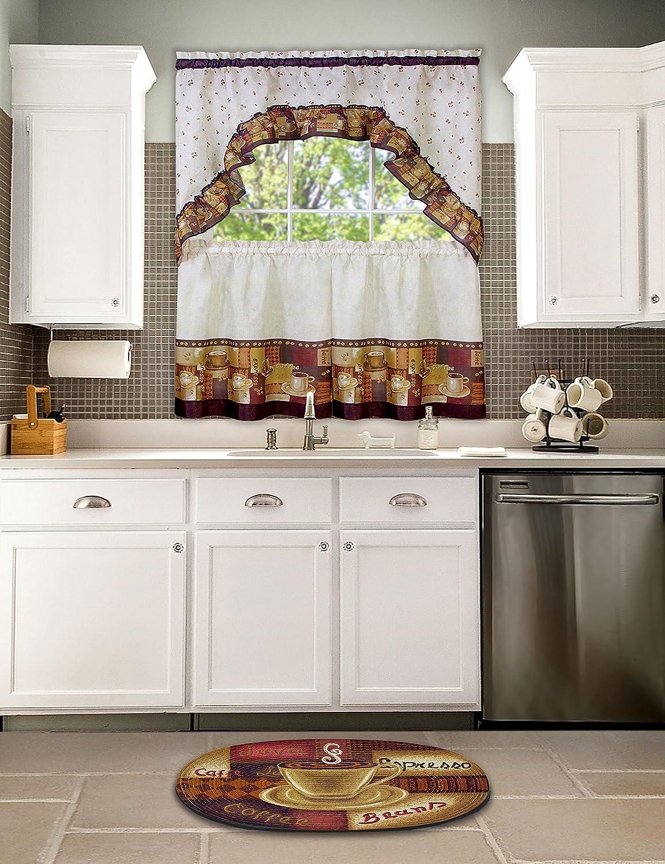 Achim Home Furnishings Braided Rug 20-Inch by 30-Inch Chef