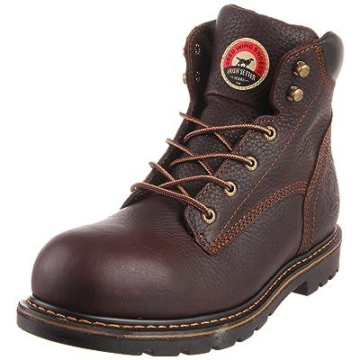 "Irish Setter Men's 83604 6"" Aluminum Toe Work Boot: Shoes"