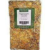 ORGANIC WHOLE CALENDULA FLOWERS 4 OZ Bag (Marigold) – USDA CERTIFIED 100% ORGANIC and KOSHER – Herbal Tea (Calendula Officina