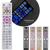 GE Universal Remote, Backlit, for Samsung, Vizio, Lg, Sony, Sharp, Roku, Apple TV, Smart TVs, Streaming Players, Blu-Ray…