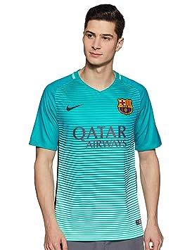 Nike FCB M Nk Dry Stad JSY SS 3r Camiseta Línea F.C. Barcelona ... e6d72d8c6e5