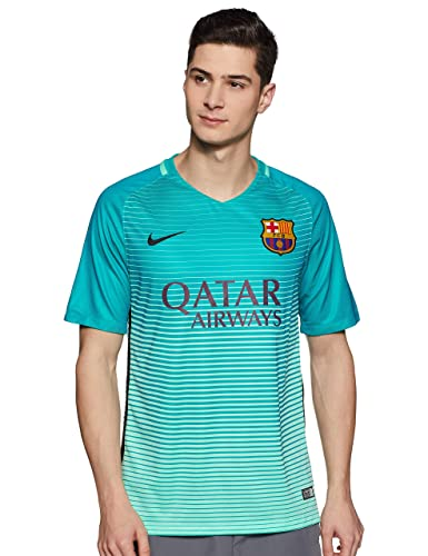 bb13bd0813 Amazon.com  NIKE FC Barcelona Third Soccer Jersey 2016 17 (M)  Shoes