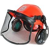 ハスクバーナー プロ フォレスト ヘルメット システム 一式 オレンジ/Pro Forest Helmet System [輸入品]