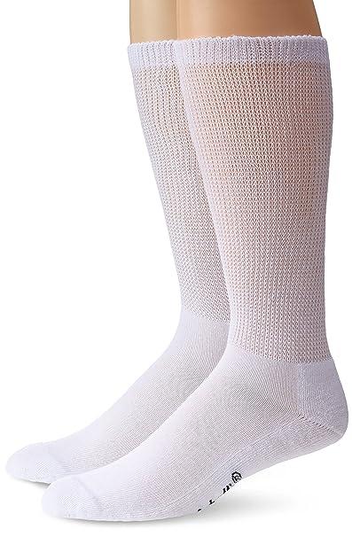 Dr.Scholl - Calcetines que no aprietan para hombre (2 unidades) - Blanco - : Amazon.es: Ropa y accesorios