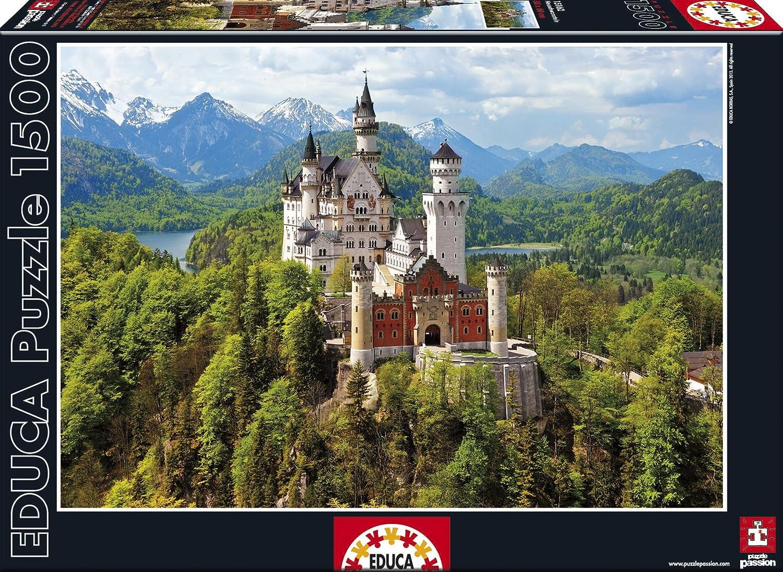 Educa 15162 - Neuschwanstein-Puzzle, 1500 Teile