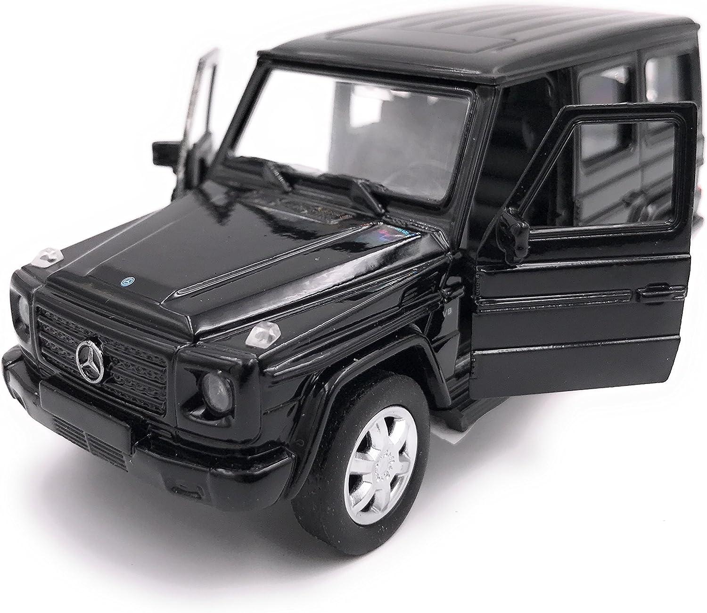 H-Customs Mercedes Benz G Klasse Modellauto Auto Lizenzprodukt 1:34-1:39 Schwarz
