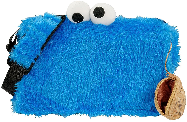 Sesamstraße Sac bandoulière, bleu (Bleu) - 0122033