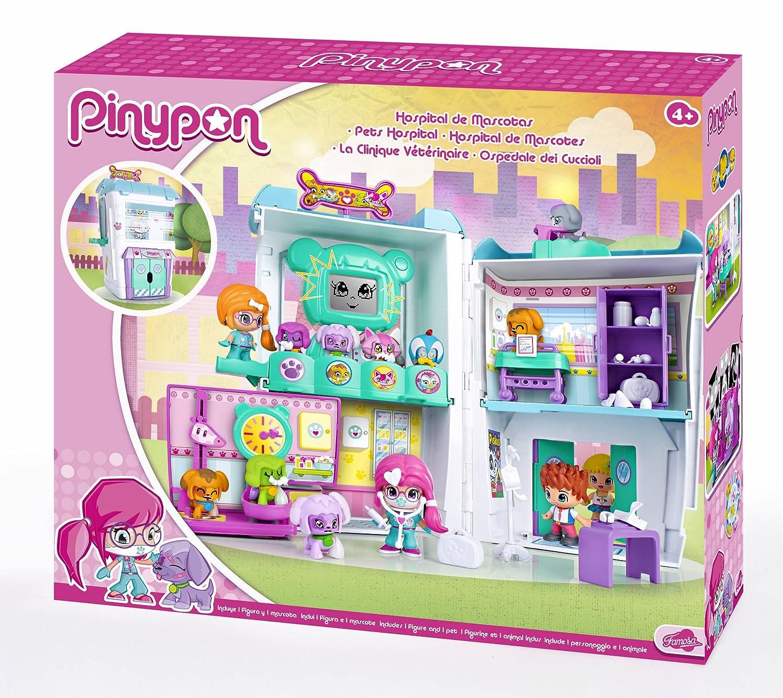 Pinypon Hospital de Mascotas, Muñeca y Accesorios (Famosa 700012914)
