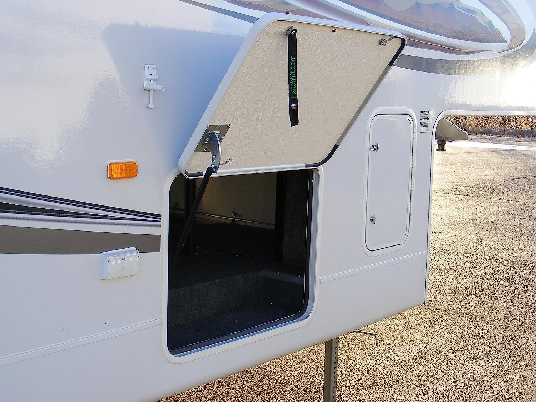 """Hatchlift RV Door Lift Kit for doors from 21"""" - 27"""" in height- Standard"""