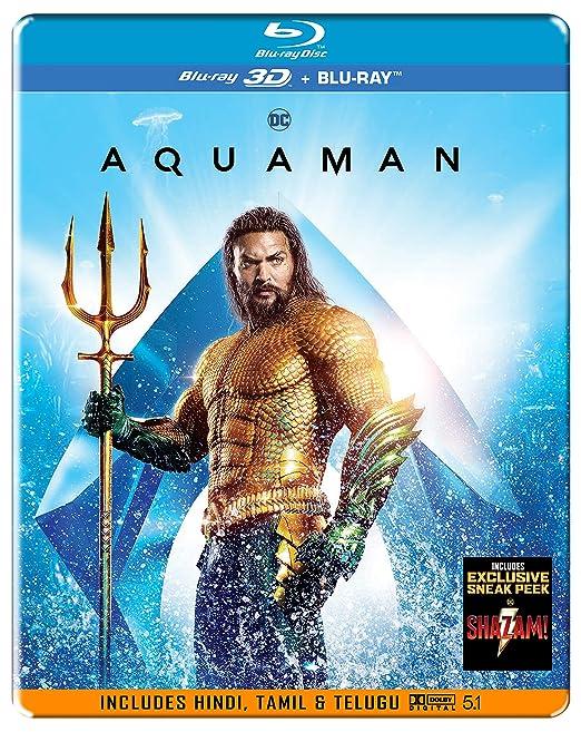 aquaman steelbook  : Buy Aquaman (Steelbook) (Blu-ray 3D & Blu-ray) (2-Disc ...