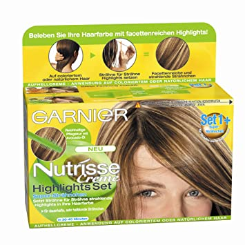 Garnier Nutrisse Creme Highlights Amazonde Beauty