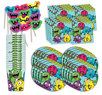 Amazon.com: Bestie Planet Monster Party Supplies – vasos ...
