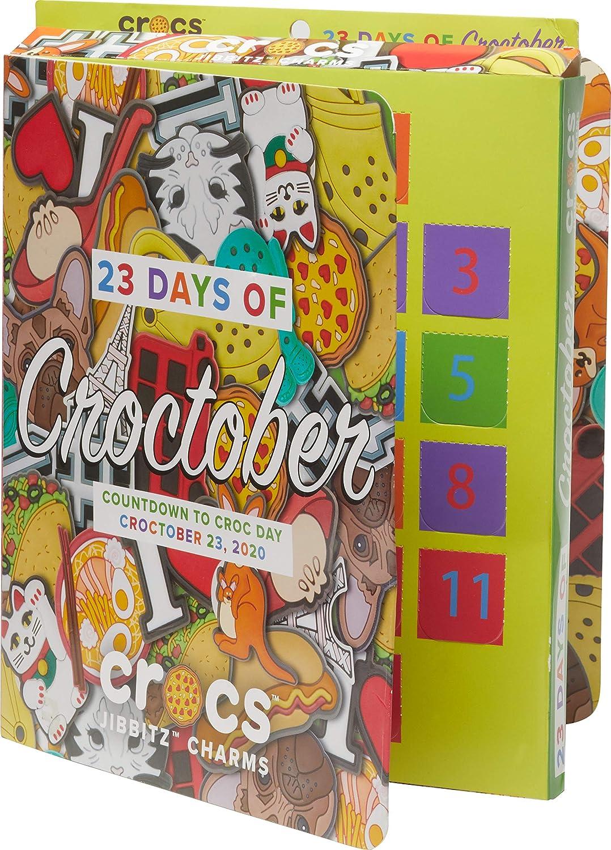 Crocs X Personalize Shoe Charms, Pizzaslime Jibbitz Calendar, Small