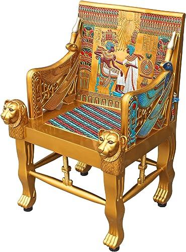 Editors' Choice: Design Toscano King Tutankhamen's Tomb Egyptian Throne Chair
