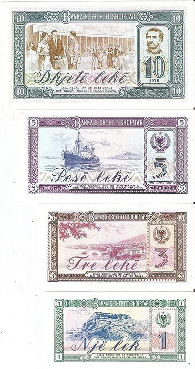 Albania 5 Lek Coin Roll Unc