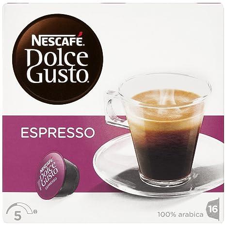 NESCAFÉ Dolce Gusto Café Espresso | Pack de 16 Cápsulas