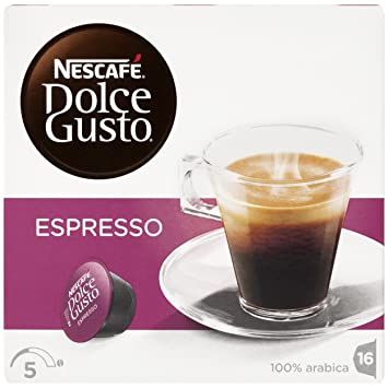 NESCAFÉ Dolce Gusto Café Espresso | Pack de 16 Cápsulas: Amazon.es: Amazon Pantry