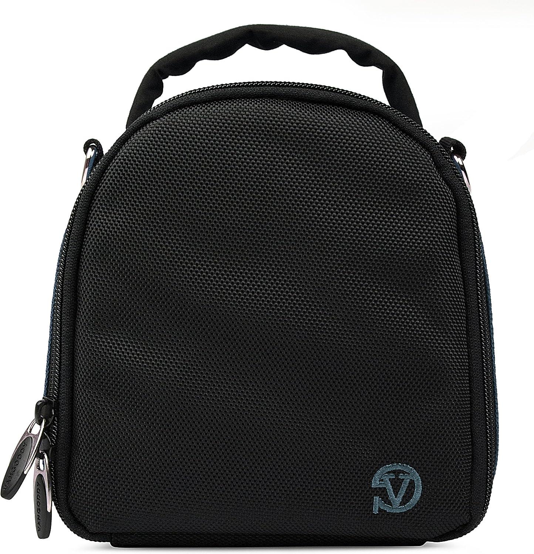 VanGoddy Laurel Neon Green Carrying Case Bag for Panasonic Camcorders
