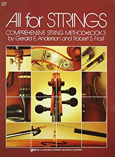 Amazon 85vn all for strings theory workbook 2 violin 80vn all for strings book 3 violin fandeluxe