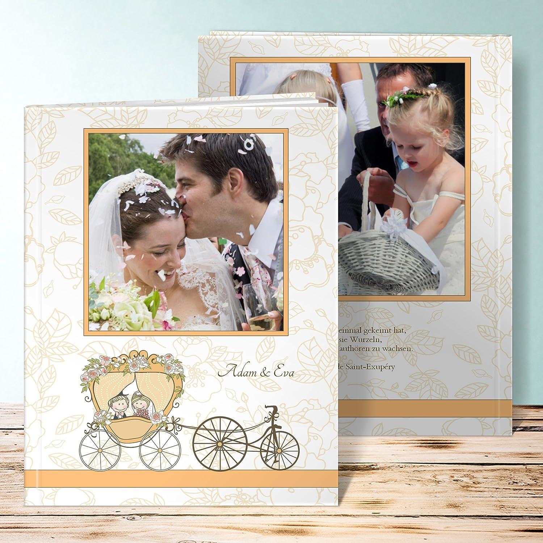 Fotobuch Goldene Hochzeit Traumkutsche 48 Seiten 24 Blatt