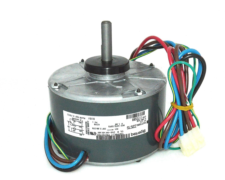 1172508 Oem Upgraded Comfort Maker 1 5 Hp 230v Condenser Fan Motor Genteq Blower Wiring Diagram Industrial Scientific