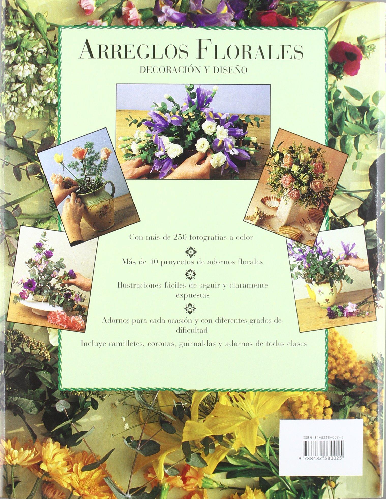 Arreglos Florales Decoracion Y Disen0 Spanish Edition Pamela - Adornos-florales
