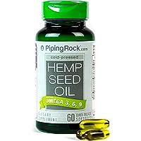 Aceite de cannabis 700 mg 60 cápsulas blandas Hemp seed oil