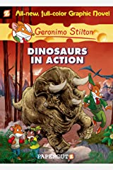 Geronimo Stilton Graphic Novels #7: Dinosaurs in Action! Kindle Edition