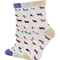 Pomlia Haute tax hundstrumpor för kvinnor casual crew-strumpor